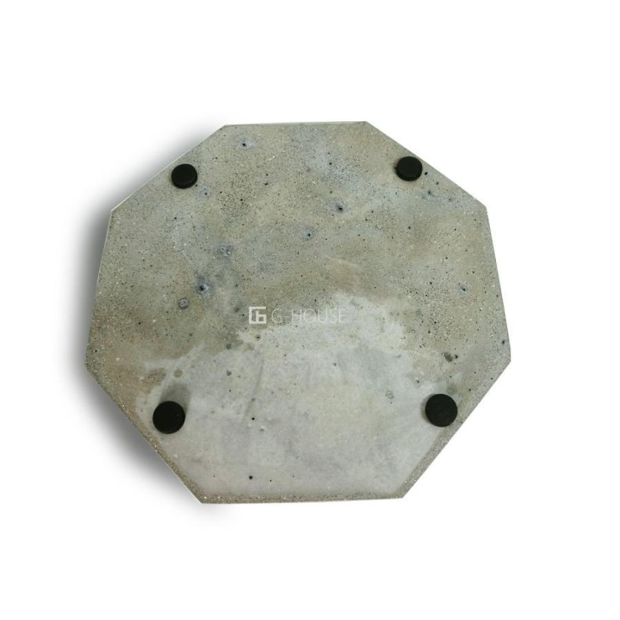 高級 おしゃれ モダン アート デザイン スタイリッシュ コンクリート セメント製 ハンドメイド 灰皿 品番:GMS01223(S)|ghouse-ystore|04