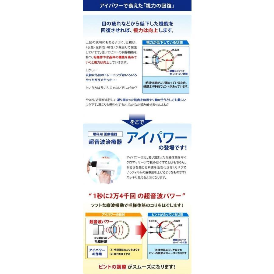 new eyepower 超音波治療器アイパワー高度管理医療機器販売業 許可番号第100004号 by eyepower.jp|ghp|03