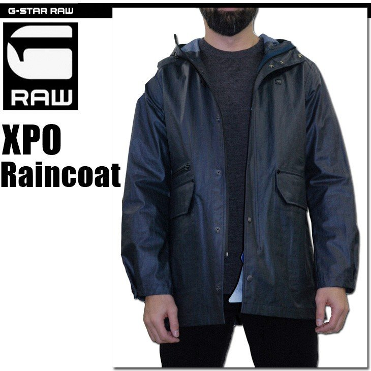 G-STAR RAW Mens Xpo Raincoat