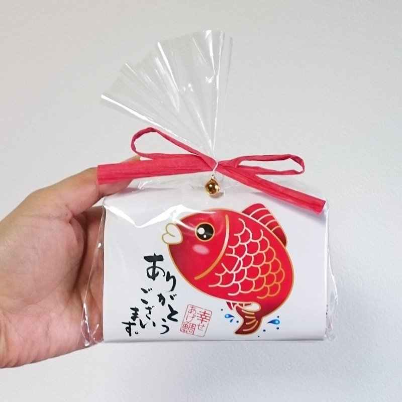幸せあげ鯛(まんじゅう) プチギフト お菓子 結婚式 安い 2次会 お祝い ありがとう|gift-bellsimple|04