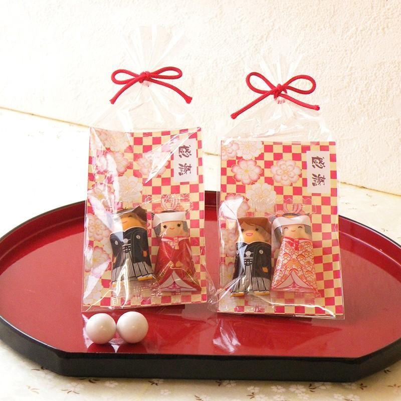 チョコっと感謝 プチギフト 結婚式 安い 和装 和風 見送り 可愛い お洒落|gift-bellsimple
