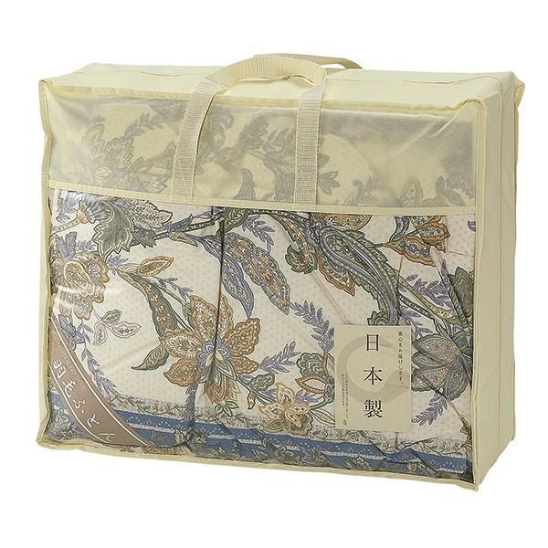 内祝い ギフト 日本製 羽毛ふとん ブルー W22-095-10 NUF-2750