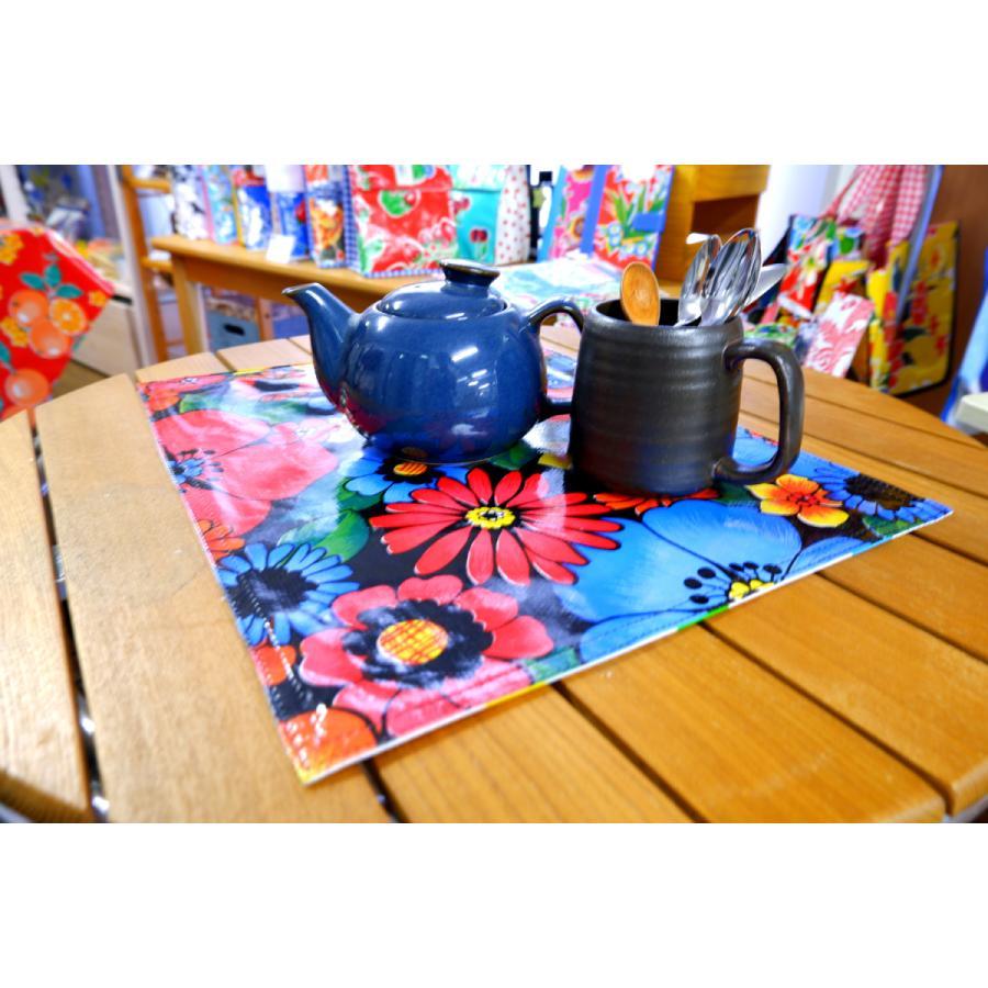 ランチョンマット テーブルマット オーストラリア製メキシカンオイルクロス素材 BenElke 職場や家のインテリアに 両面リバーシブルで防水 gift-trine-pro 07