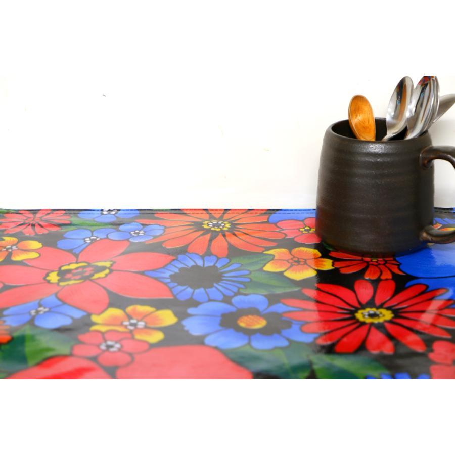 ランチョンマット テーブルマット オーストラリア製メキシカンオイルクロス素材 BenElke 職場や家のインテリアに 両面リバーシブルで防水 gift-trine-pro 09