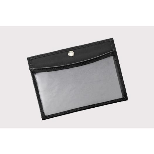 IDカードケース レザー 名入れ ギフト プレゼントに ブラック ホルダー ネーム入れ料金込 ストラップ付|gift-trine-pro|04