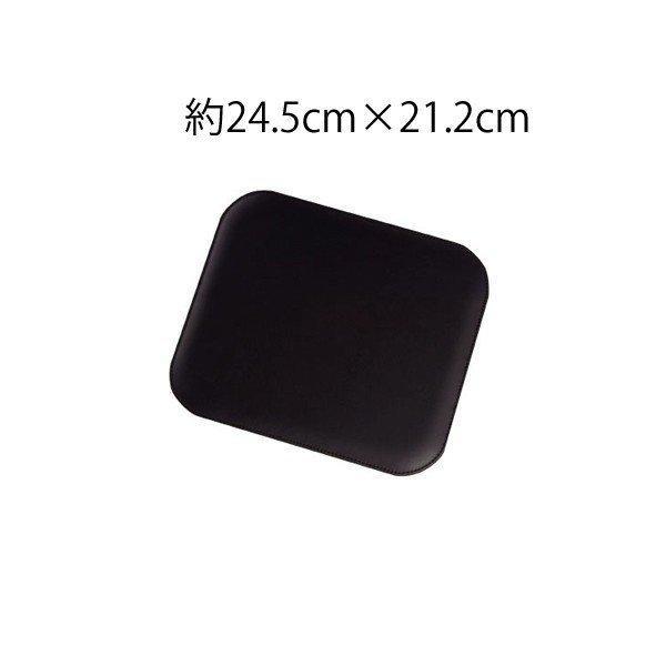 牛本革 エグゼクティブマウスパッド Executive Mouse pad ギフト包装無料 名入れ代金込 置くだけで高級感のあるマウスパッド 大切な方への贈り物にも|gift-trine-pro|02