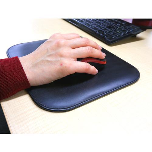 牛本革 エグゼクティブマウスパッド Executive Mouse pad ギフト包装無料 名入れ代金込 置くだけで高級感のあるマウスパッド 大切な方への贈り物にも|gift-trine-pro|10