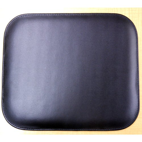 スムース牛本革 エグゼクティブマウスパッド 高品質 シンプル おしゃれ シックなブラック 記念品やプレゼントにも オフィスワークに gift-trine-pro 06