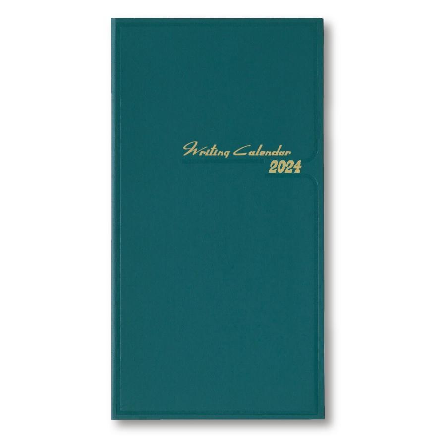 ダイゴー 2022年1月始まり E1032  月曜日始まり アポイントダイアリー 手帳青緑 1ヶ月横罫 giftnomura
