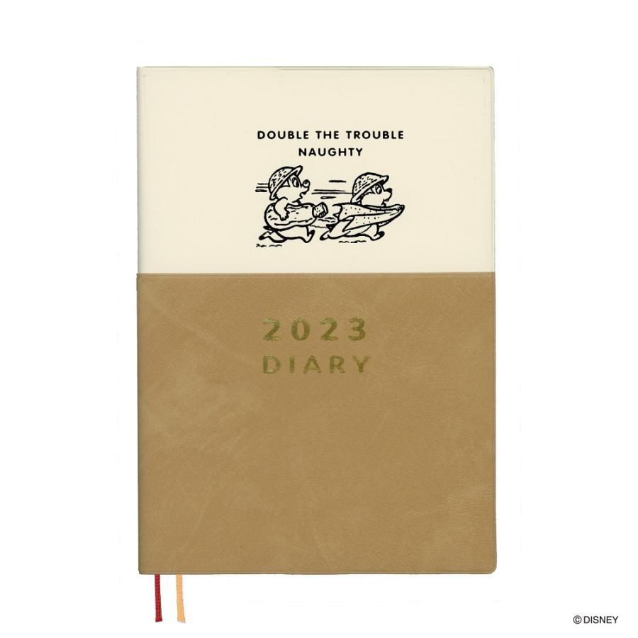 ダイゴー 2022年1月始まり ディズニーDisney Diary B6 ウィークリー チップ&デール E6178 giftnomura
