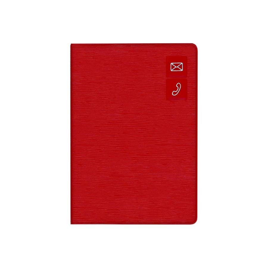 アドレス帳 手帳 ビジネス ダイゴー G6937  大きく書けるアドレス レッド giftnomura