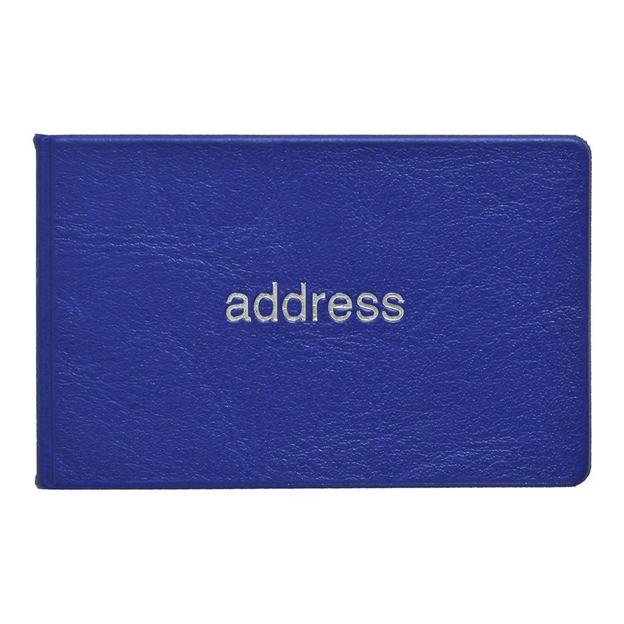薄型アドレス ブルー