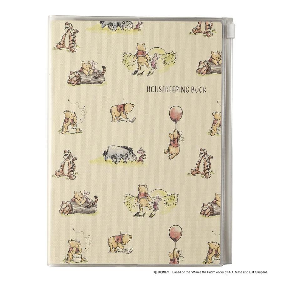 ダイゴー ディズニー家計簿 A5 プーさん/パターン J2123|giftnomura