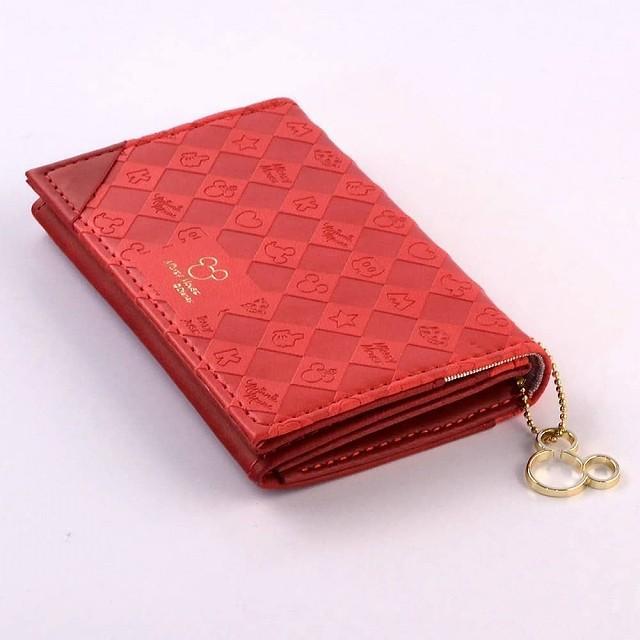 ●ダイゴー カードケース ディズニー ミッキー ダイゴー N1506  おとなのディズニー ネームカードケース レッド 【SALE】 giftnomura 04