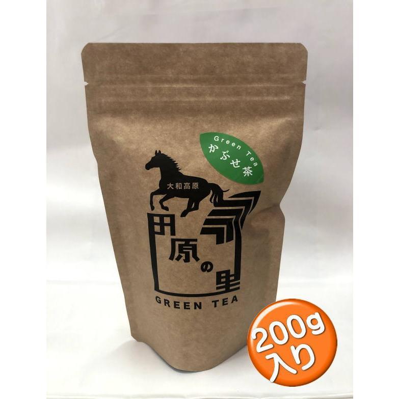 ゆたか農園 奈良県大和高原 大和茶 田原の里 かぶせ茶 200g|giftnomura