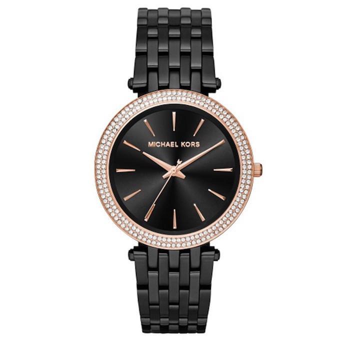 特別価格 MK3407 Black IP Darci ブラック アナログ レディース 腕時計 マイケルコース, 工芸工房 イベントツール販促品 812adcd3
