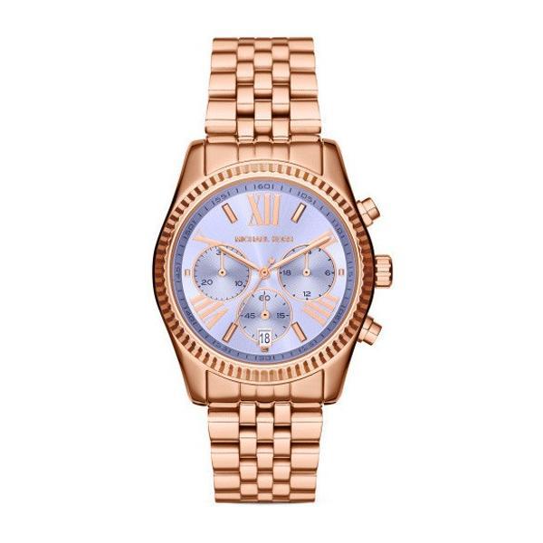 経典 MK6207 Lexington レキシントン パープル×ローズゴールド アナログ レディース 腕時計 マイケルコース, 日用品雑貨のJOY STORE 09cfd585