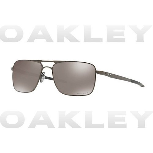 OAKLEY オークリー OO6038-0657 GAUGE 6 Pewter Prizm 黒 Polarized 偏光 サングラス プリズムブラック USA