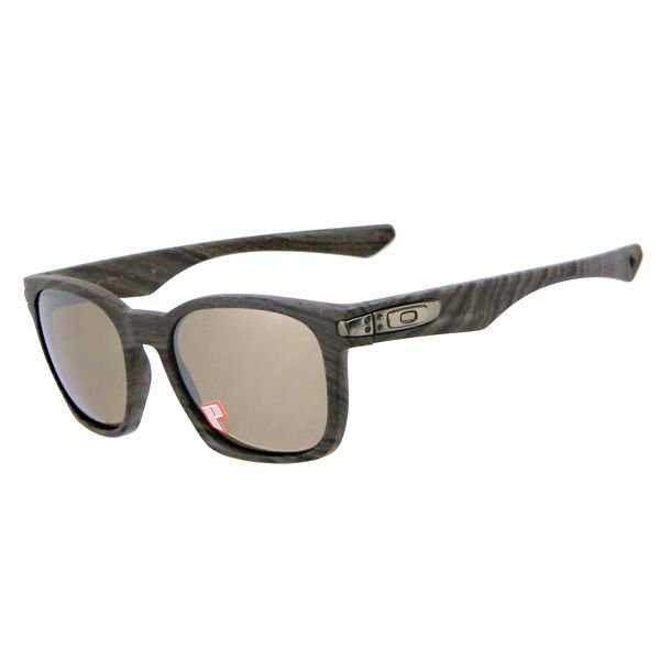 OAKLEY オークリー oo9175-09 GARAGE ROCK™ POLARIZED 偏光 Woodgrain / Tungsten Iridium Lens