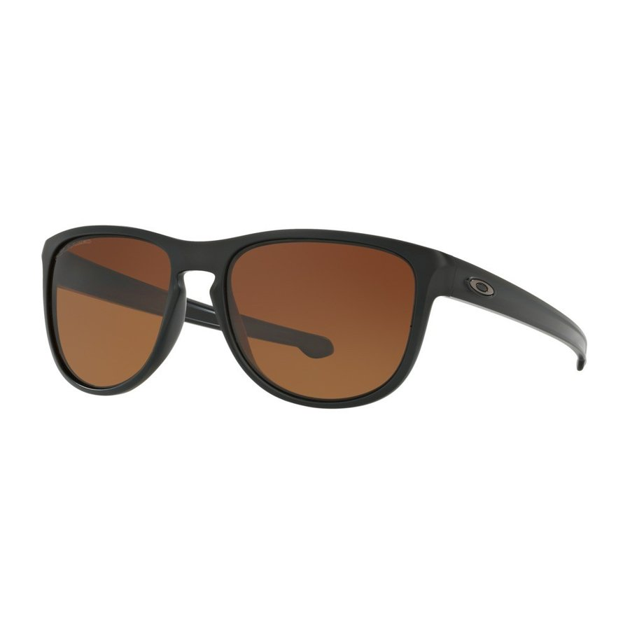 OAKLEY オークリー oo9342-06 Sliver Round 褐色 gradient polarized Sunglasses 偏光 サングラス
