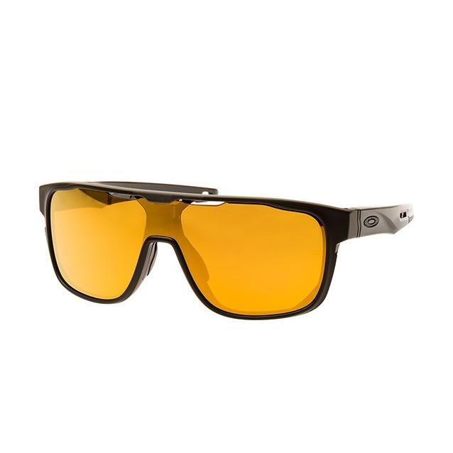 [日本未入荷]OAKLEY オークリー oo9387-06 Crossrange Shield 24k iridium Lenses Sunglasses サングラス