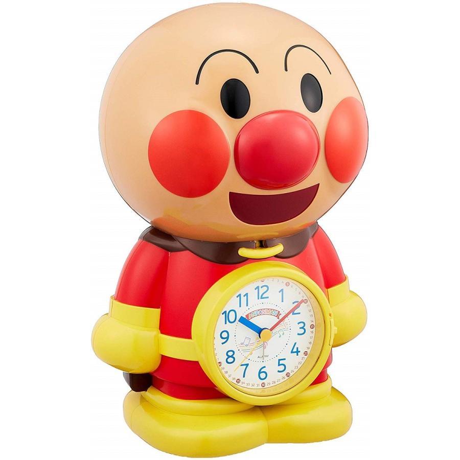 送料無料 リズム時計 アンパンマン おしゃべり目覚まし時計 4se552