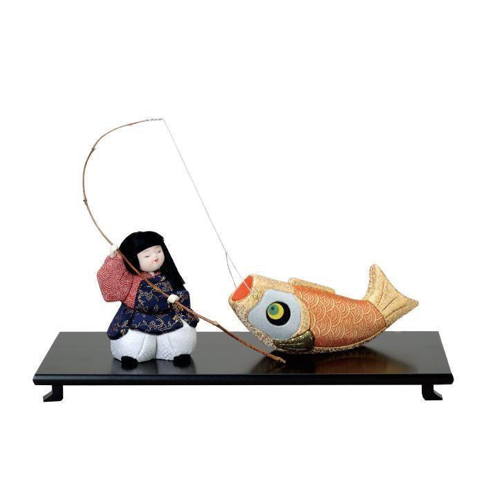同梱不可 01-396 鯉釣り 完成品
