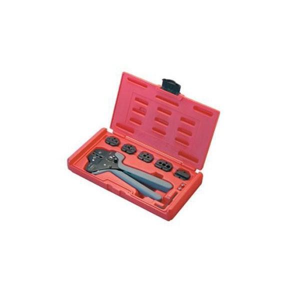 同梱不可 同梱不可 同梱不可 DENSANデンサン(ジェフコム) 圧着工具セット LMJ-SET-B 830
