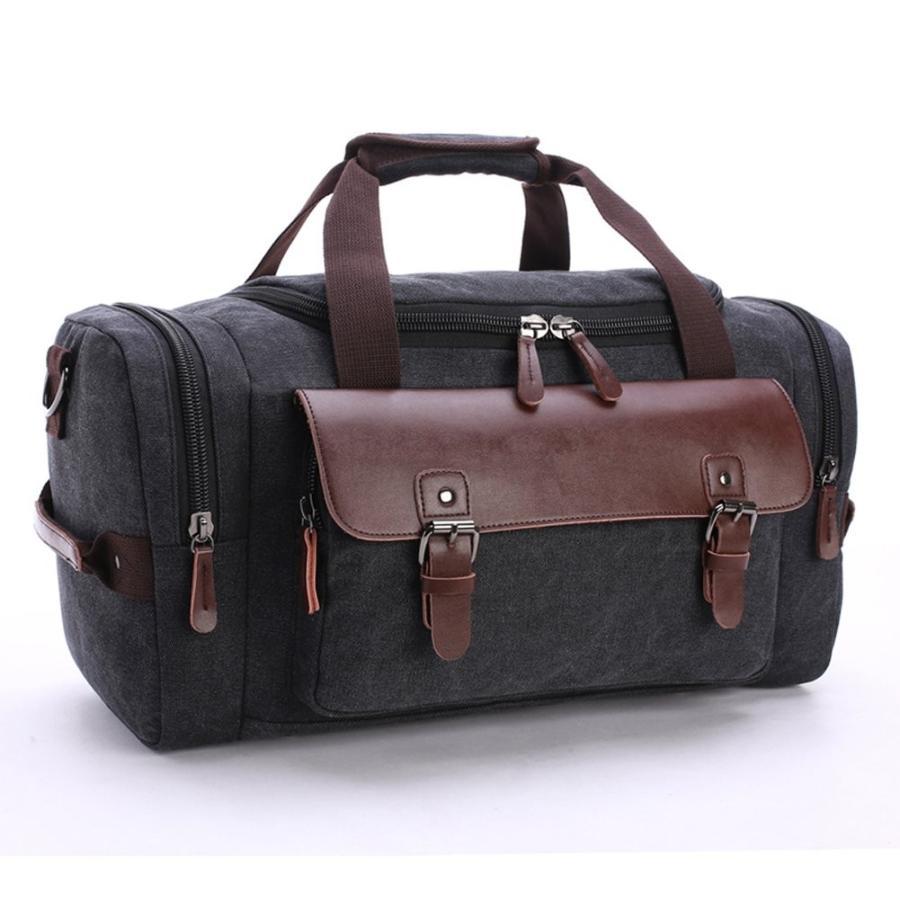 chansea週末旅行ダッフルバッグユニセックスキャンバスジムトートバッグOvernightハンドバッグ