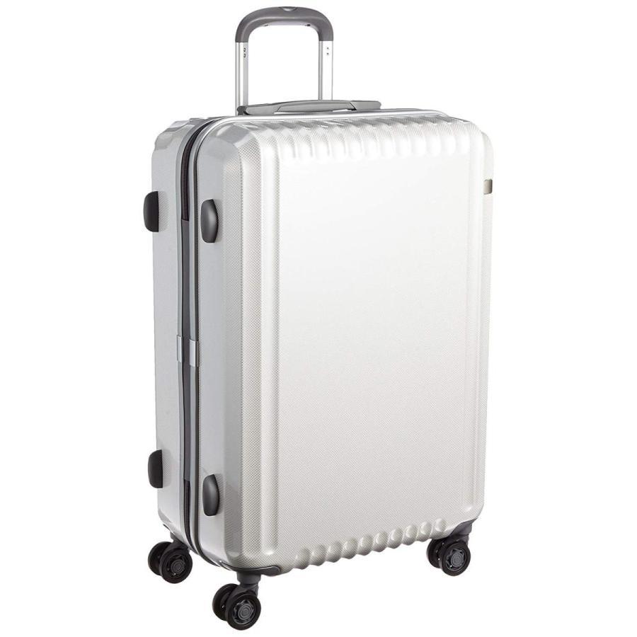 エース スーツケース パリセイドZ 60cm 62L 4.0kg 双輪キャスター 60 cm 4kg 05584 ホワイトカーボン