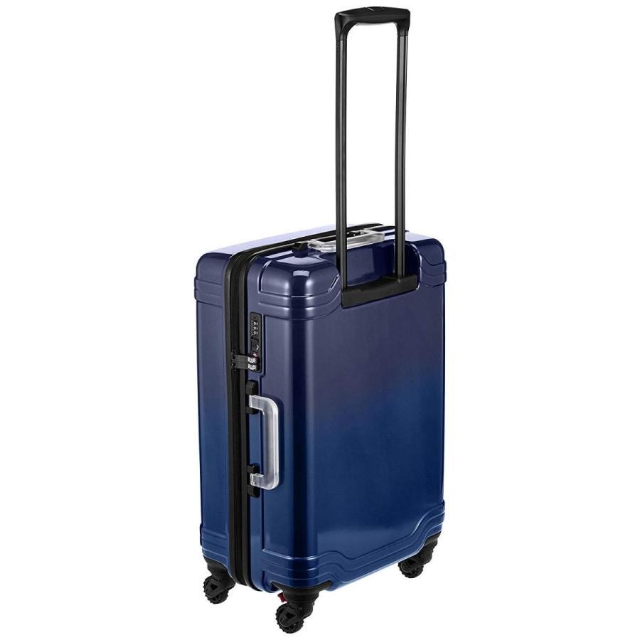 ゼロブリッジ スーツケース モントローズ キャスターストッパー付 06432 50L 56 cm 3.4kg ブルーグラデーション