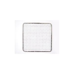 使い捨て焼き網 角網 正方形型200枚 350角mm鉄(亜鉛メッキ)中国産 焼肉用使い捨て焼網 網洗いの手間が省けます