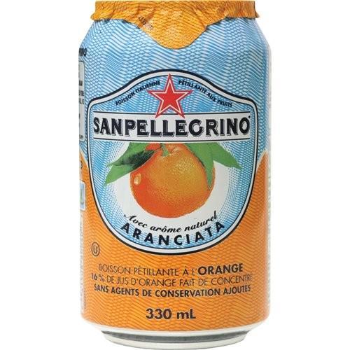 Sanpellegrino (サンペレグリノ) オレンジ 微炭酸 330ml×24本 並行輸入品|gingaichimarket