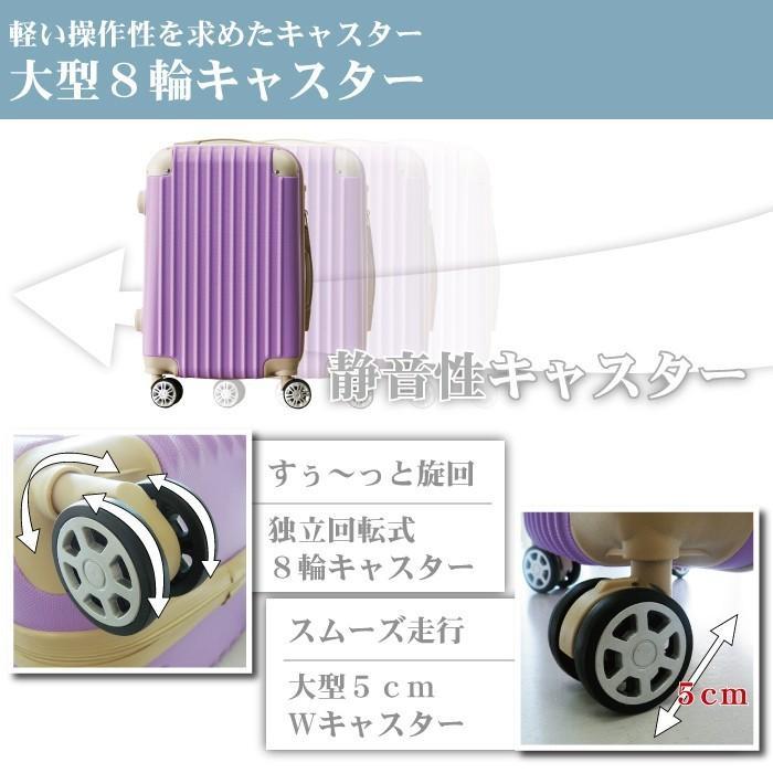 スーツケース キャリーバッグ Mサイズ 中型  かわいい 軽量 Basilo-019 おしゃれ かわいい レディース キャリーケース コロナ 入院 療養 gingam-bag 05