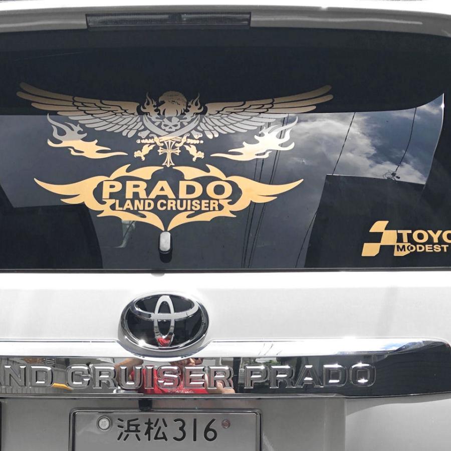 ドクロ スカル ステッカー 車 かっこいい 文字 車名 おしゃれな トライバル 骸骨 アメリカン 車メーカー ブランド ロゴ エンブレム|ginkage|04