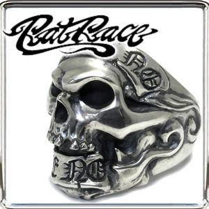 【ご予約品】 ラットレース リング メンズ ブランド 指輪 人気 シルバー ギブノーテイクノー スカル1 ブランド 7-30号 RAT シルバー925 RAT RACE 人気, WATER:ffc7bddf --- airmodconsu.dominiotemporario.com