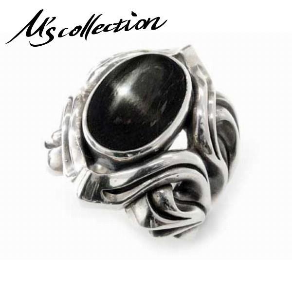 良質  エムズコレクション collection リング 指輪 メンズ 指輪 ブランド シルバー ダイオプサイト ストーン シルバー M's collection 人気, ワインセラー エスカルゴ:e3a73fb8 --- airmodconsu.dominiotemporario.com