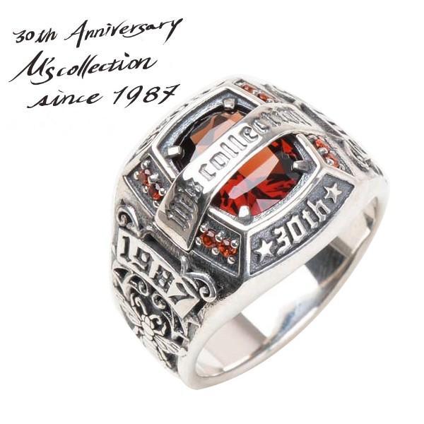新作商品 エムズコレクション リング 指輪 メンズ ブランド シルバー M's ブランド トリプルX 30thアニバーサリー ストーン シルバー M's collection 人気, 安眠ふとんのこだま:6311b72b --- bit4mation.de