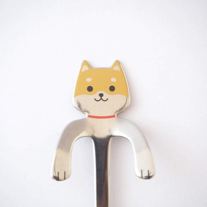 コーヒースプーン しばいぬ 茶しば 犬雑貨・犬グッズ・柴犬|ginya|02