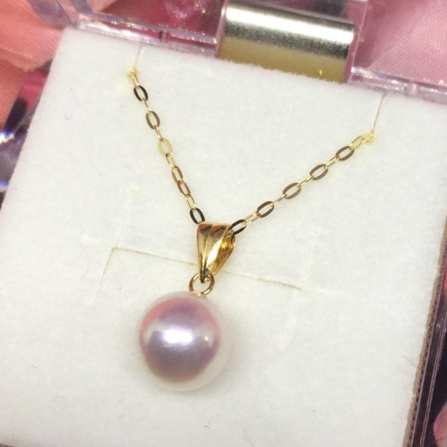 【信頼】 ネックレス 18金 アコヤ 真珠 パール / K18 7mm akoya pearl necklace 40cm, 鳥の巣箱 b1c89ceb