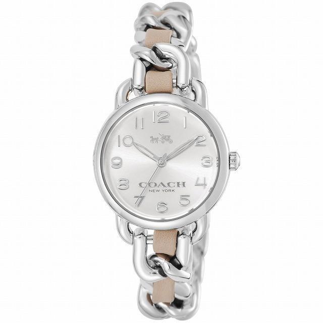 【予約販売品】 COACH コーチ 腕時計 ウォッチ レディース 14502254 デランシー シルバー/ブラウン[並行輸入品], ジェットラグ 15ed51cb