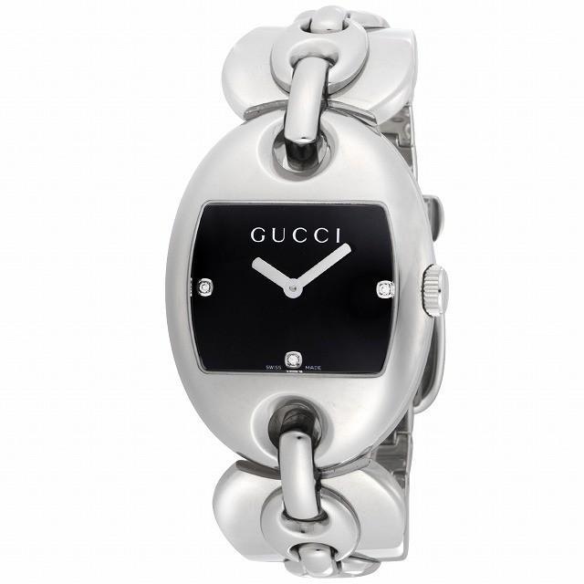 【日本産】 グッチ 腕時計 GUCCI レディース 腕時計 マリナチェーン ブラック文字盤 ダイヤ YA121303 レディース [並行輸入品] [並行輸入品], Clair(クレール):63b932e0 --- airmodconsu.dominiotemporario.com