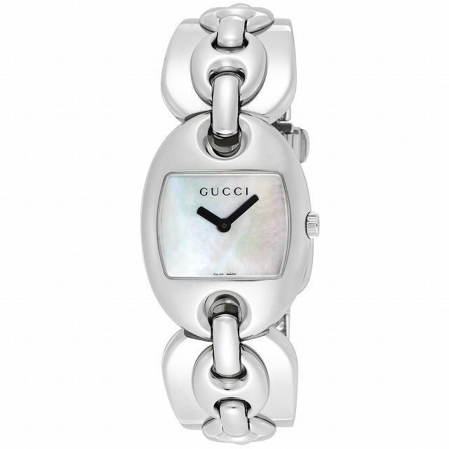 【高額売筋】 グッチ GUCCI GUCCI 腕時計 マリナチェーン レディース 121SM ホワイトシェル SS SS YA121502 レディース [並行輸入品], 野田村:581caa98 --- airmodconsu.dominiotemporario.com
