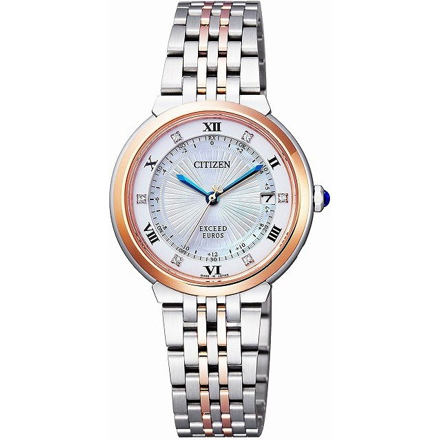 当店だけの限定モデル シチズン ペア EUROSシリーズ CITIZEN 腕時計 レディース EXCEED エクシード EUROSシリーズ ペア ES1055-55W レディース, 二丈町:3e7cfa6e --- airmodconsu.dominiotemporario.com