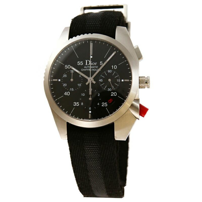 【激安大特価!】 【店内全品送料無料〜3/31】ディオール Dior 腕時計 シフレルージュ ブラック 084610A001, EAIM 396235e7