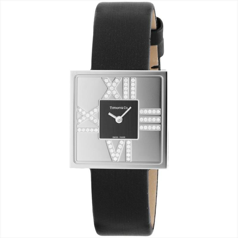 【在庫処分大特価!!】 【店内全品送料無料〜3/15】ティファニー ブラック Tiffany&Co. 腕時計 Tiffany&Co. AtlasCocktailSquareLady ブラック Z1950.10.40E10A40E, ジャストパーツ:095f0bab --- persianlanguageservices.com
