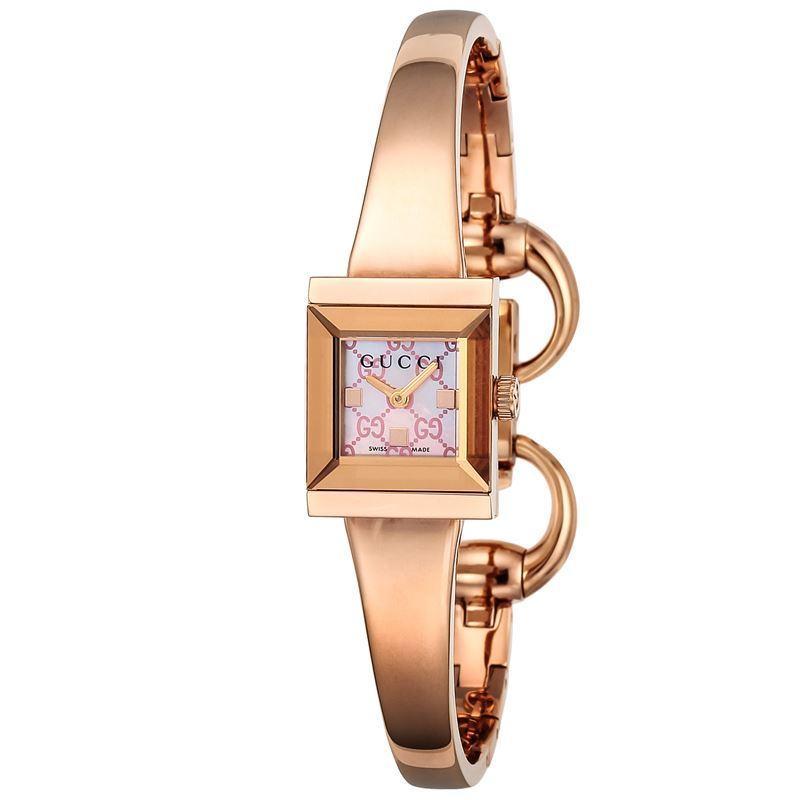 高価値 【店内全品送料無料〜3/15】グッチ 腕時計 ピンクパール GUCCI 腕時計 G-FRAME ピンクパール GUCCI YA128518, かぐれ:2ff232dc --- airmodconsu.dominiotemporario.com