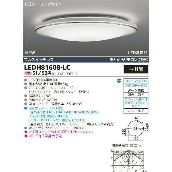 NORDISH 丸型LEDシーリングライト◆8畳用 45W 3420lm◆ LEDH81608-LC