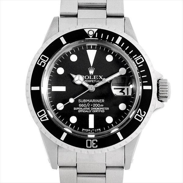 【初売り】 48回払いまで無金利 ロレックス サブマリーナ デイト 1680 フチなし 55番 アンティーク メンズ 腕時計, イワシ屋本舗 cc4eb5c0