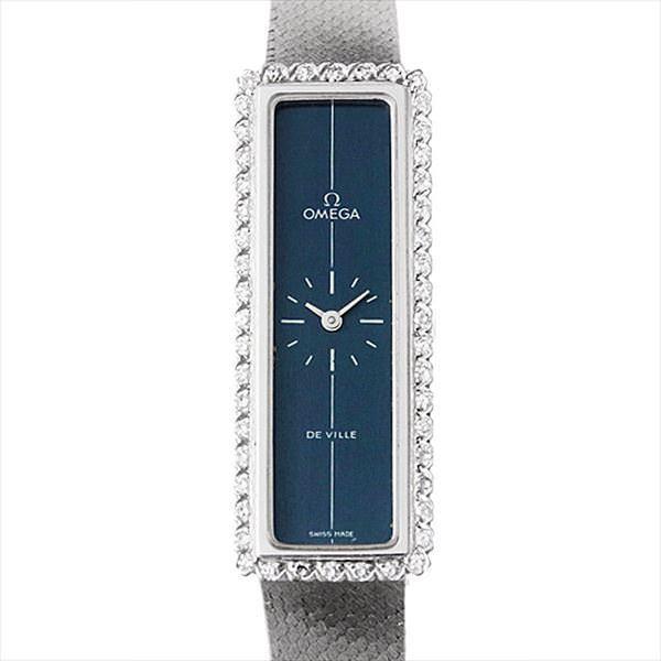公式の店舗 48回払いまで無金利 SALE オメガ デ・ヴィル レクタンギュラー ベゼルダイヤ 3275 アンティーク レディース 腕時計, キクミ商会 40e25c1e